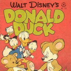 Couverture du <i>Donald Duck</i> (<i>One Shots</i> n<sup class=