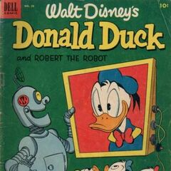Couverture de <i>Donald Duck</i> n°28.