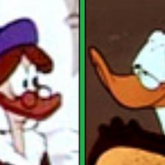 Les parents de Daisy dans <i>L'Agenda de Donald</i>.