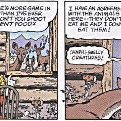 Les souris ayant volé le pain.
