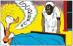 Bombie le zombie avec Donald Duck par Carl Barks