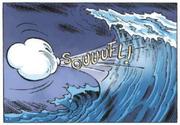 Nimbus souffle pour tenter de congeler le tsunami