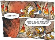 Donald fait sécher le bouton Exit