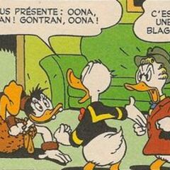 Donald dessiné par Vicar.