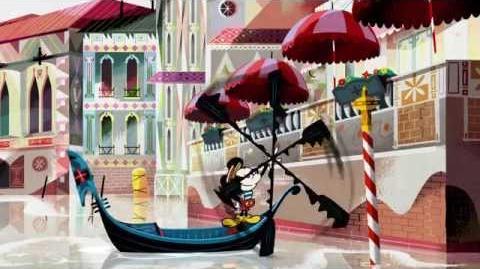 Mickey à Venise