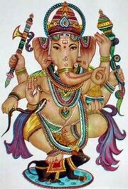 Ganesh et Mûshika