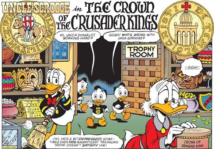 La Couronne des Croisés bandeau