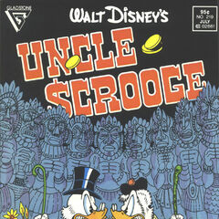 Couverture du <i>Uncle Scrooge</i> n<sup class=