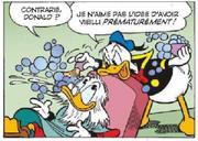 Donald doit raser Picsou