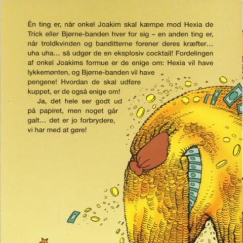 4ème de couverture de Jumbobog n°344 illustrant ce récit.