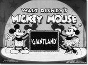 Mickey au pays des géants