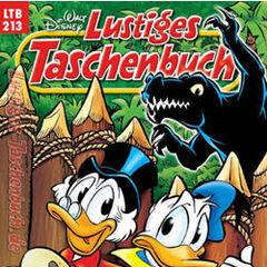 Couverture de la réédition de la revue allemande <i>Lustiges Taschenbuch</i> n<sup class=