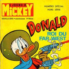 Cinquième numéro du <i>Mickey Parade</i> bis paru le 18 juin 1967, qui porte le numéro 786.