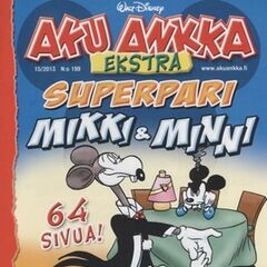 Couverture du magazine suédois <i>Aku Ankka Ekstra</i> n°199 illustrant l'histoire.