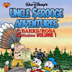 Couverture du <i> Uncle Scrooge Adventures (The Barks / Rosa Collection)</i> n<sup class=