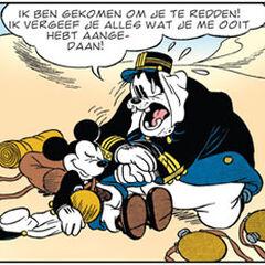 Pat Hibulaire est toujours resté loyal envers Mickey, même si c'était son pire ennemi.