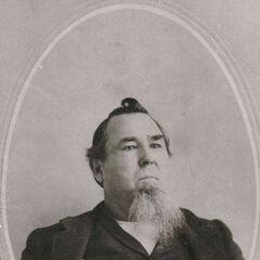 Amos Clark Short, le grand-père maternel de Lillian.
