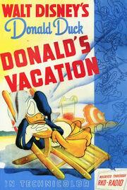 Donald fait du camping