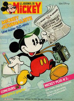 Mickey journaliste