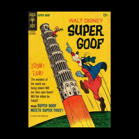 Couverture de <i>Walt Disney Super Goof</i> n°4, montrant <a href=