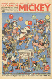 Le Journal de Mickey (avant-guerre) n°113
