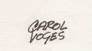 Signature de Carol Voges