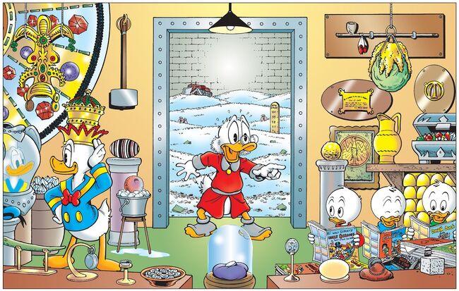 Scrooge treasures