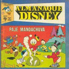 Couverture de la revue <i>Almanaque Disney</i> n°17 par un dessinateur inconnu.
