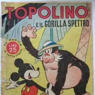 Couverture de la revue italienne <i>Albi d'oro</i> n°47039 reprenant un dessin de Floyd Gottfredson.