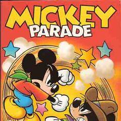 légende = Couverture de l'histoire <i>Mickey empereur de Calidornie</i> réalisée en 1998 par <a href=