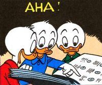 Donald et le tic numismatique planche 9 case 7