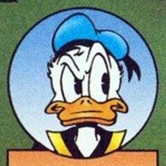 Donald dessiné par Don Rosa dans l'<a href=