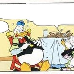Gus et Grand-mère Donald, dessinés en 2006 par le chilien <a href=