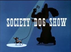 Society Dog Show - title card