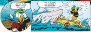 Donald attaqué par un requin alors qu'il attendait Daisy
