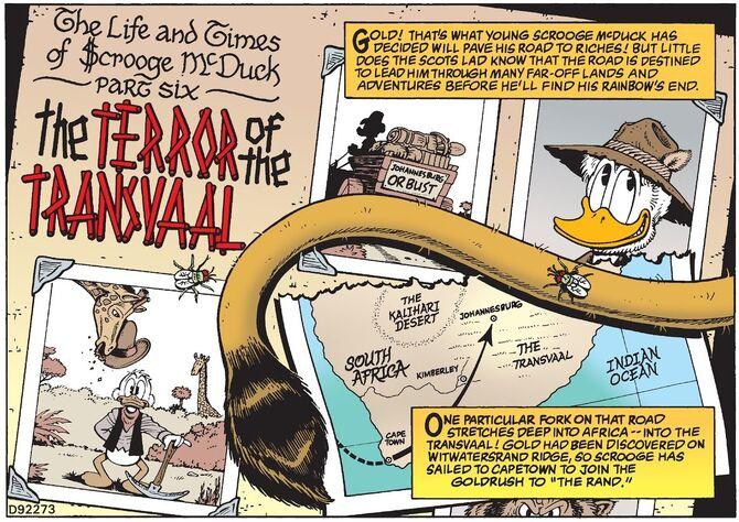 La Terreur du Transvaal bandeau