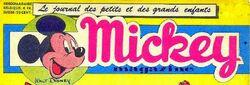 Logo Mickey magazine