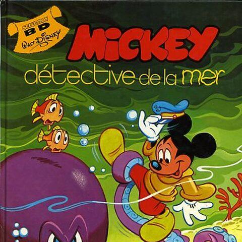 Couverture de <i>Mickey détective de la mer</i>, réalisée par <a href=
