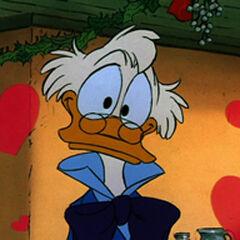 Picsou dans <i>Le Noël de Mickey</i>.