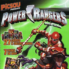 Cinquième hors-série de <i>Picsou Magazine</i> (sur les <i>Power Rangers</i>) datant de décembre 2005.