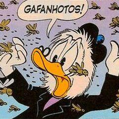 Gripsou dans sa première apparition, dessiné par Barks.