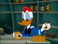 Donald Duck Donald fait son beurre