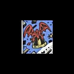 Le dragon du casque du Roi Arthur continuant à voler.