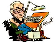 Floyd Gottfredson auto-caricature