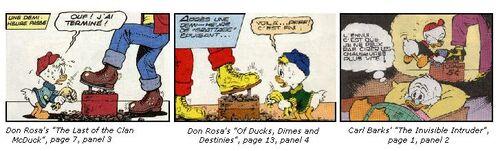 Inspiration de Don Rosa 5 Le Dernier du clan McPicsou