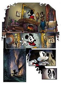 Epic Mickey 1 L'origine première planche