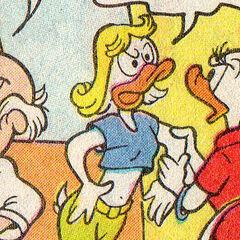 Fille de Daisy et Donald.