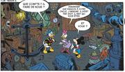Mickey Donald et Daisy dans la cabane de Pat Hibulaire