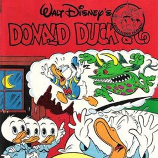 Couverture du <i>Donald Duck & Co</i> n°1984-26, dessinée par Josep Tello Gonzalez.