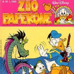 Couverture de <i>Zio Paperone</i> n<sup class=